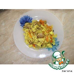 Как готовить Плов из курицы простой пошаговый рецепт с фотографиями на Новый Год