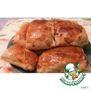Рецепт Пирожки слоеные с курицей и картофелем