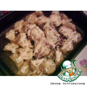 Рецепт Пряный картофель с курочкой