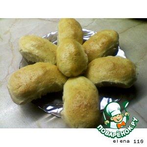 Рецепт Пироги с рисом, яйцом и зеленым луком