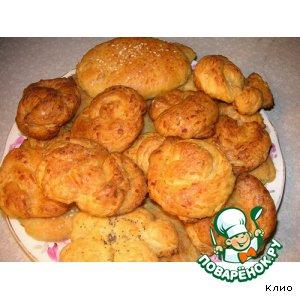 Рецепт Сырные плюшки