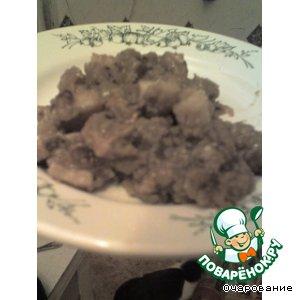 Рецепт Свинина, тушенная в пиве