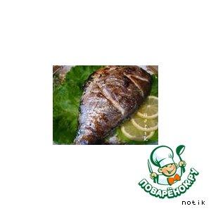 Дорада запеченная вкусный пошаговый рецепт с фото на Новый Год