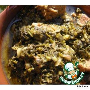 Как готовить Сябзи говурма домашний рецепт приготовления с фото
