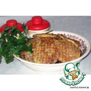 Рецепт Вафельные бризольки