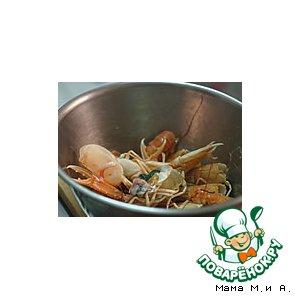 Рецепт Сливочный соус из креветочных отходов