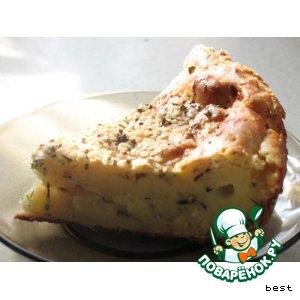 Рецепт: Вкуснейшая сырная запеканка