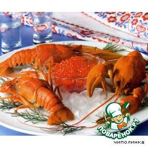 Рецепт Закуска из раков