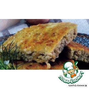 Рецепт Хлебцы с творогом и рыбой