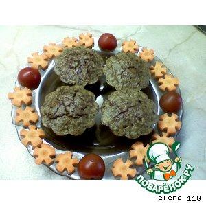 Рецепт Печеночное  суфле с овощами