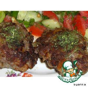 Рецепт: Котлеты мясные