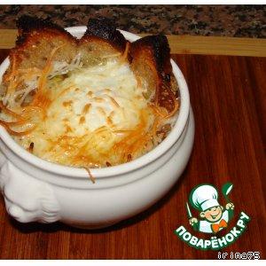 как готовить луковый суп по-французски рецепт с фото пошагово