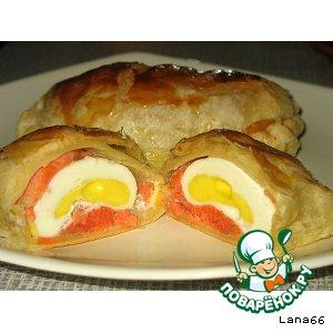 Как приготовить Яйца в тесте домашний пошаговый рецепт приготовления с фото на Новый Год