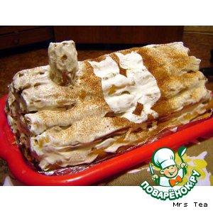 """Рецепт: Торт """"Избушка"""""""