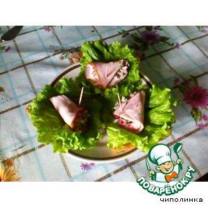 """Рецепт: Бутерброды """"Вкус весны"""""""