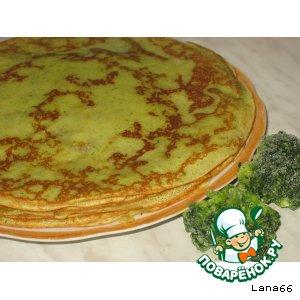 Рецепт Зеленые блины