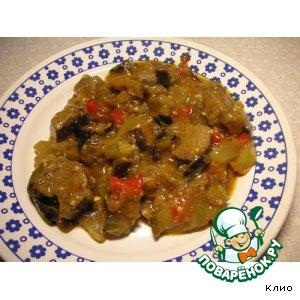 Мясо с овощами домашний пошаговый рецепт с фотографиями на Новый Год
