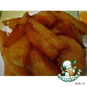 Картошка по-деревенски простой рецепт приготовления с фотографиями