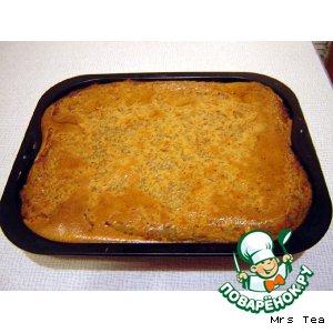 Рецепт Бабка картофельная с грибами постная