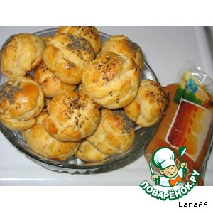 Готовим вкусный рецепт с фотографиями Сырные булочки