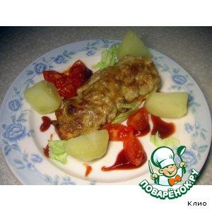 Куриное филе под кремовой шапочкой вкусный пошаговый рецепт с фотографиями как готовить на Новый Год