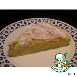 Рецепт Йогуртовый пирог