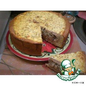 Луковый пирог с глазурью вкусный рецепт приготовления с фотографиями как приготовить на Новый Год