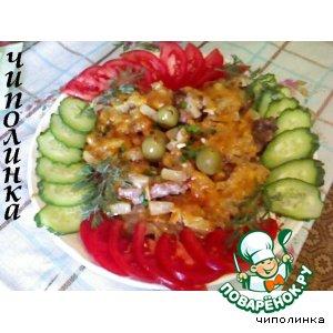 Как приготовить Телятина под ананасами простой рецепт с фотографиями пошагово на Новый Год