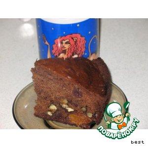 Рецепт Творожный кекс с цукатами