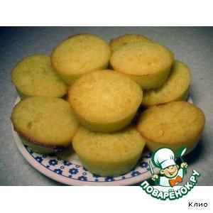 Рецепт Цитрусовые кексы-манники