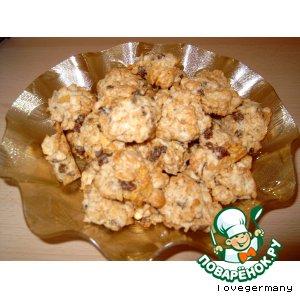 Рецепт Печенье из кукурузных хлопьев