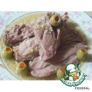 Как готовить простой рецепт приготовления с фотографиями Запеченное мясо на Новый Год