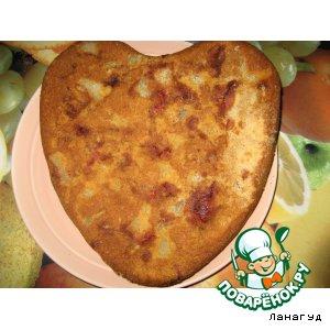 Шарлотка пошаговый рецепт приготовления с фото на Новый Год