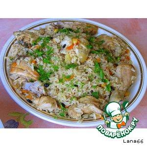 Готовим вкусный рецепт приготовления с фото Мой плов из курицы