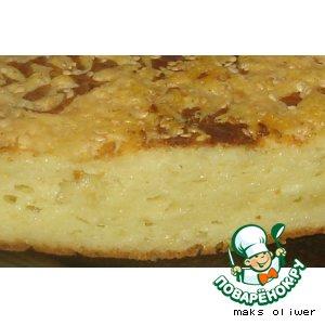 Домашний рецепт приготовления с фото Сырный пирог