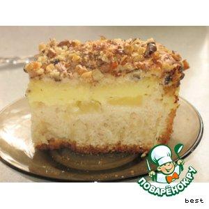 Готовим Пудинговый пирог с ананасами простой рецепт приготовления с фотографиями