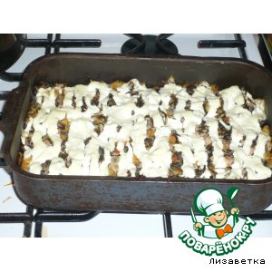 Рецепт Рыбная запеканка с морской капустой
