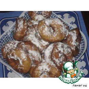 Готовим Пончики домашний пошаговый рецепт с фотографиями