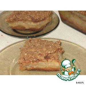 Рецепт Грушевый торт с овсянкой