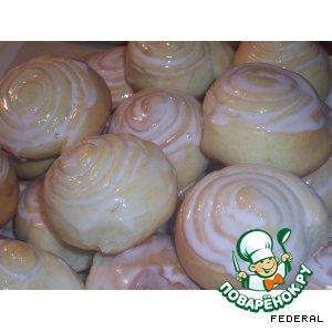 Готовим вкусный рецепт приготовления с фото Сдобные булочки на Новый Год