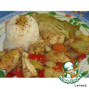 Курица с овощами в рукаве рецепт приготовления с фотографиями пошагово