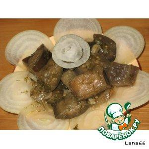 Баклажаны под грибы рецепты с фото