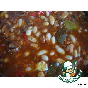 Фасоль в томате домашний рецепт приготовления с фотографиями пошагово как приготовить