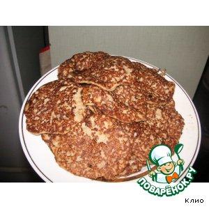 Рецепт Мясные оладушки с кабачком