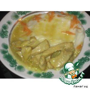 Готовим рецепт приготовления с фото Свинина с соусом