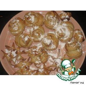 рецепт пирожное ракушка