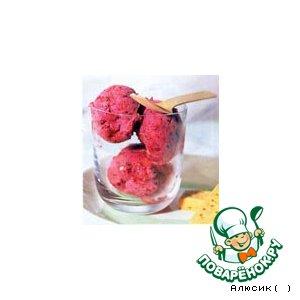 Рецепт Десерт из замороженных ягод