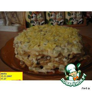 Рецепт Тортик куриный