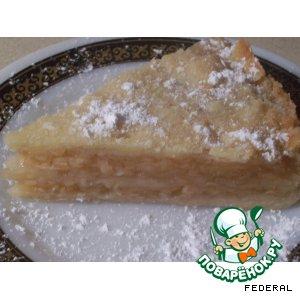 Рецепт Класический болгарский пирог с яблоками