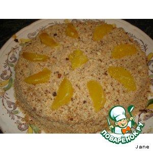 Рецепт Экзотический торт